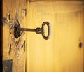 Old Key And Lock - PhotoDune Item for Sale