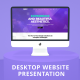 Desktop Website Presentation - VideoHive Item for Sale