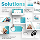 Solution Focused 3 in 1 Pitch Deck Bundle Powerpoint Template Template - GraphicRiver Item for Sale