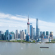 shanghai skyline against a sunny sky - PhotoDune Item for Sale