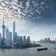 shanghai cityscape in morning, beautiful huangpu river and pudong skyline - PhotoDune Item for Sale
