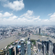 aerial view of shanghai cityscape - PhotoDune Item for Sale