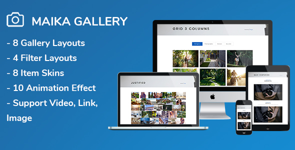Maika - Gallery Plugin for WordPress - CodeCanyon Item for Sale