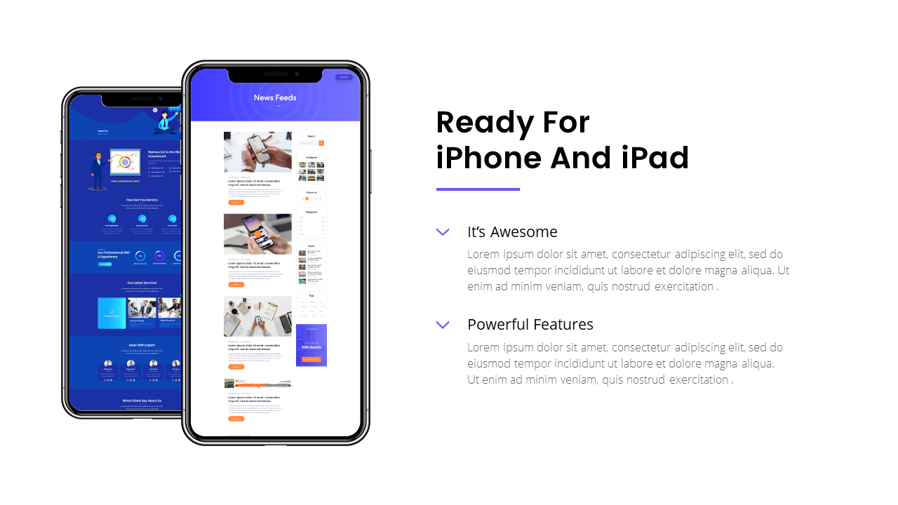 Mobile App Keynote Template 2019
