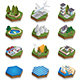 Set of Elements of the Modern Landscape - GraphicRiver Item for Sale