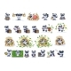 Set Kit Collection Panda Bear Sticker Emoticon - GraphicRiver Item for Sale