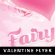 Fairy Love Valentine Flyer - GraphicRiver Item for Sale
