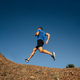 athlete runner running uphill  - PhotoDune Item for Sale
