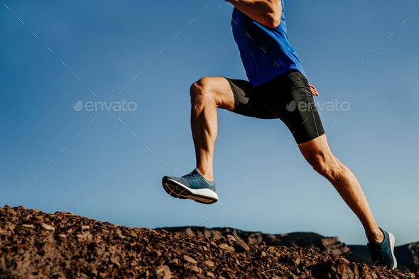legs athlete runner  - Stock Photo - Images