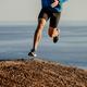 athlete runner running uphill mountain - PhotoDune Item for Sale