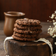 Stack of Chocolate Chip Cookies - PhotoDune Item for Sale