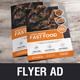 Food Restaurant Flyer Design v1 - GraphicRiver Item for Sale