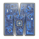Letter M.  Alphabet in circuit board style. Digital hi-tech lett - PhotoDune Item for Sale