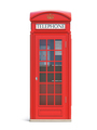 Red phone booth. London, british and english symbol. - PhotoDune Item for Sale