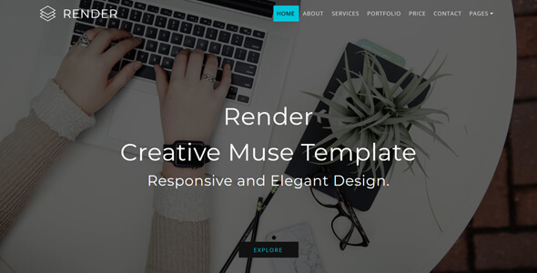 Render_Multipurpose Creative Muse Template
