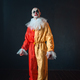 Mad bloody clown with makeup in carnival costume - PhotoDune Item for Sale