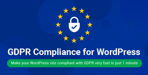 WordPress GDPR Compliance 2019 - CodeCanyon Item for Sale