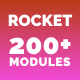Rocket - Responsive Email with 200+ Modules + MailChimp Editor + StampReady + Online Builder - ThemeForest Item for Sale