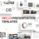Hello Keynote Presentation - GraphicRiver Item for Sale