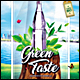 Green Taste Poster/Flyer - GraphicRiver Item for Sale