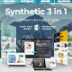 Synthetic 3 in 1 - Bundle Creative Powerpoint Template - GraphicRiver Item for Sale