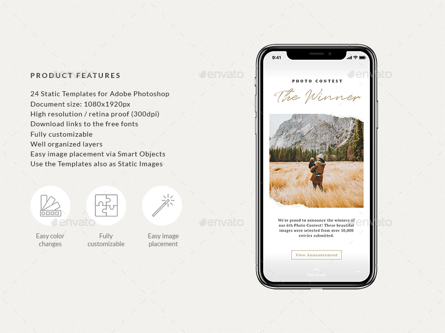 Ripped Papers — Animated Instagram Story Templates