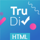 TruDiv - Portfolio Html Template - ThemeForest Item for Sale