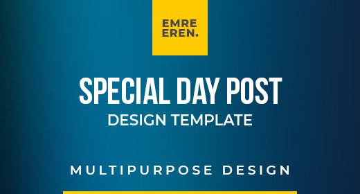 Special Days Post Template Collection