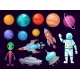 Space Items - GraphicRiver Item for Sale