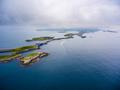 Atlantic Ocean Road aerial photography. - PhotoDune Item for Sale