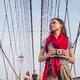 Young tourist on Brooklyn Bridge - PhotoDune Item for Sale