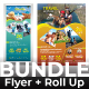 Bundle Travel (Flyer+Roll Up Banner) - GraphicRiver Item for Sale