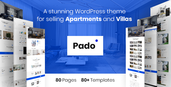Pado - Theme for Single Properties and Apartments, Villas and Complexes - Real Estate WordPress