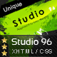 Studio 96 - In Unique Creative Style - ThemeForest Item for Sale