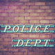 Retro Police Department Sign - PhotoDune Item for Sale
