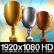 1st 2nd and 3rd Place Trophy Awards - VideoHive Item for Sale
