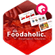 Foodaholic - Culinary PowerPoint Template - GraphicRiver Item for Sale