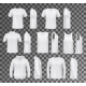 Male Clothes Isolated - GraphicRiver Item for Sale