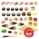 Sushi and Rolls - GraphicRiver Item for Sale