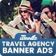 Travel Agency Banners HTML5 D55 Ad - CodeCanyon Item for Sale