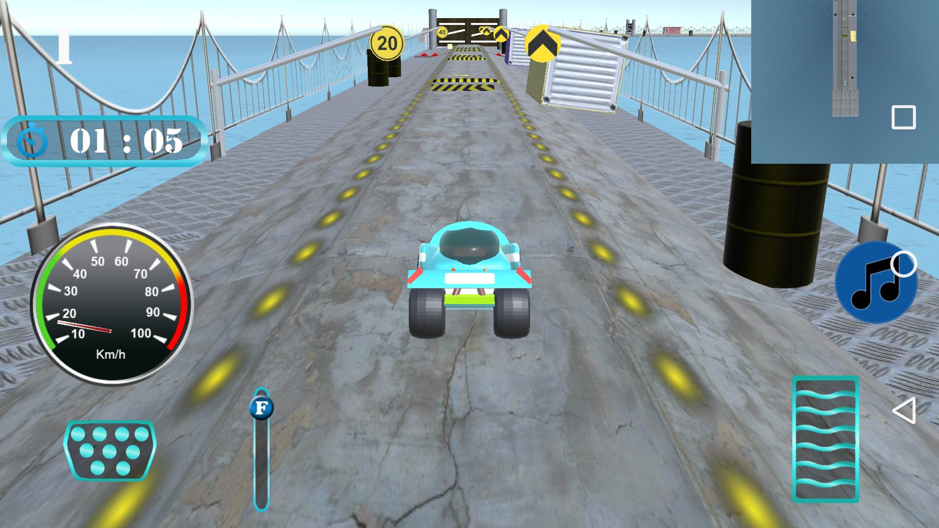 3D Simulator Drift Driver (Unity 3D Game)