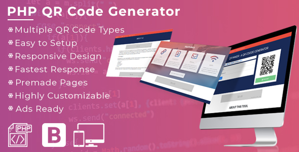 QR Maker -  A Dynamic QR Code Generator - CodeCanyon Item for Sale