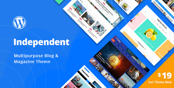 Independent - Multipurpose Blog & Magazine Theme - News / Editorial Blog / Magazine