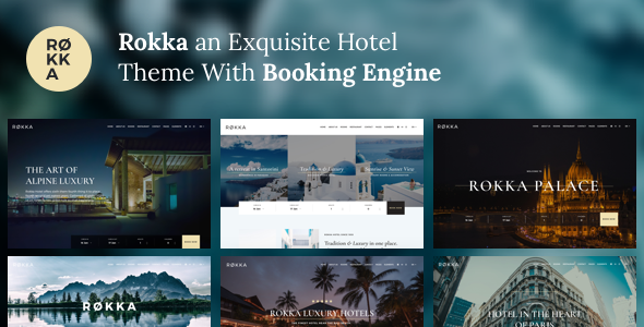 Hotel Theme With Booking System by puruno