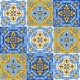 Portuguese Azulejo Ceramic Tile Pattern - GraphicRiver Item for Sale