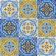 Portuguese Azulejo Ceramic Tile Pattern - GraphicRiver Item for Sale