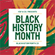 Black History Month Flyer Set - GraphicRiver Item for Sale