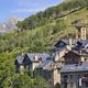 Traditional spanish mountain village. Vall de Boi. Catalonia, Spain - PhotoDune Item for Sale