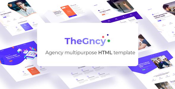 TheGncy - Multipurpose Agency HTML Template