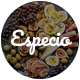 Especio | Gutenberg Food Blog WordPress Theme - ThemeForest Item for Sale